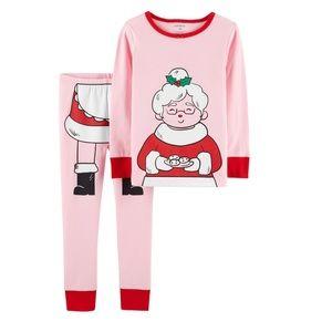 Carter's Mrs. Claus Christmas Pajamas